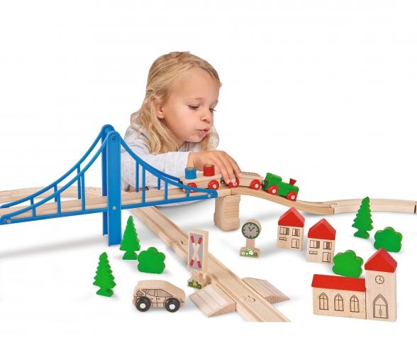 EH Train, Train Set with Bridge