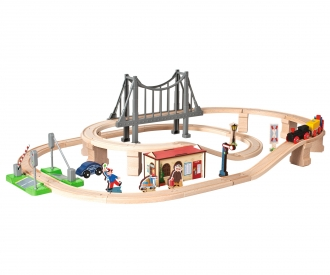 Eh - Train Set W/Bridge