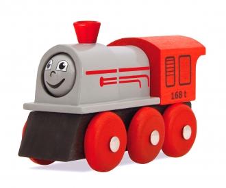 Eichhorn Bahn, Lok mit drehbarem Gesicht