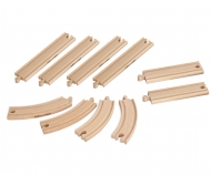 Eichhorn Train, Track Set, 10 pcs.