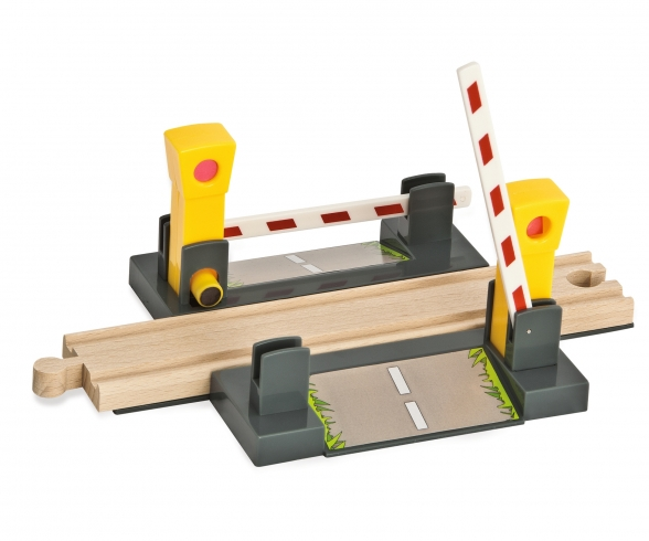 Eichhorn Train, Level Crossing, 4 pcs.