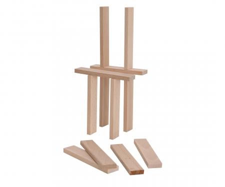 Eichhorn Wooden Construction Kit 200 pcs.