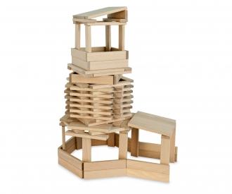 Eh - Set De Construction Bois (200pcs)