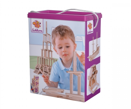 Eichhorn Wooden Construction Kit