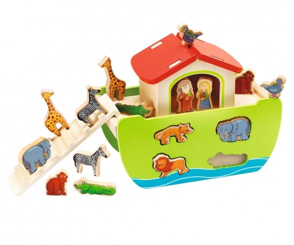 """Eichhorn Shape Sorter """"Noah's Ark"""""""