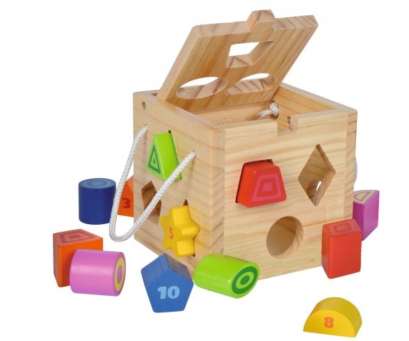 Eichhorn Shape Sorting Cube