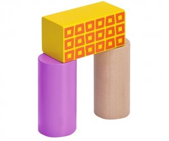 Eichhorn Color, Holzbausteine