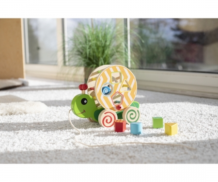 EH Color, Pull-along Stacking Animal