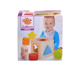 Eichhorn Color, Shape Sorting Box