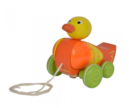 EH Pull-along Animal, Duck, coloured