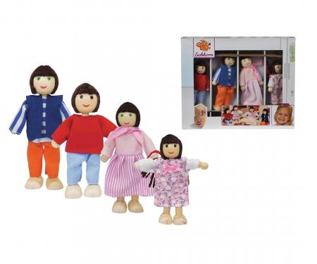 Eichhorn Dollhouse Family