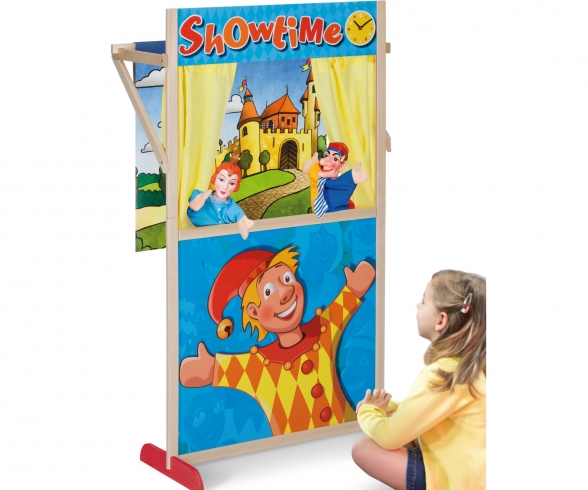 EH Puppet Theater Booth