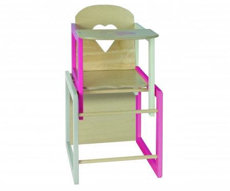 EH Doll's Highchair with Table