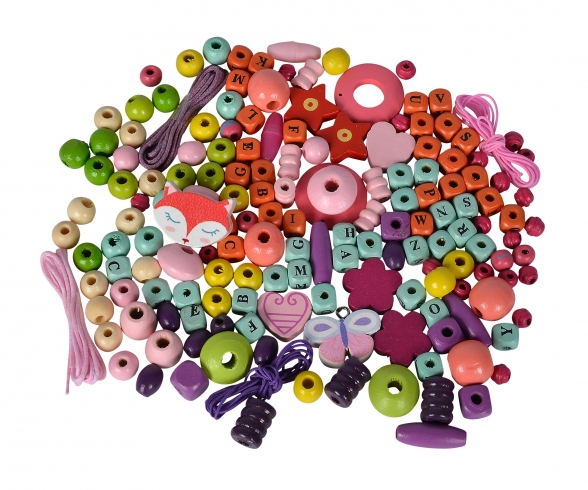 EH Wooden Bead Set Letters