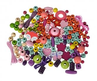 Eichhorn Wooden Bead Set Letters