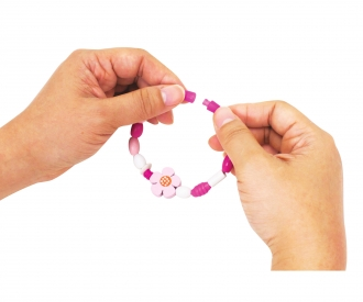 Eichhorn Wooden Bead Set Flower