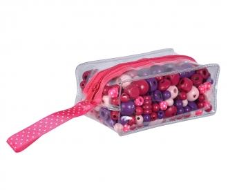 EH Wooden Bead-Set in Bag, 3-ass.