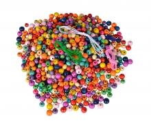 Eichhorn Wooden Beads Set in Bucket