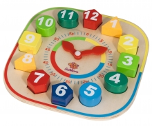 EH Teaching clock w. stacking parts