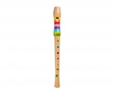 Eichhorn Musik Holz-Flöte, 32cm