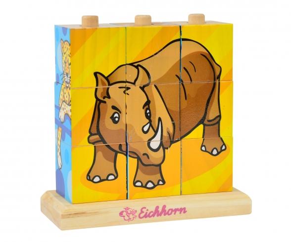 Eichhorn Picture Cube Puzzle