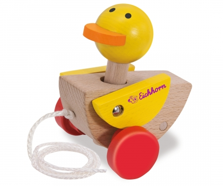 Eichhorn Pull-along animal, Duck