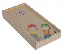 EH Körperpuzzle mit Holzbox