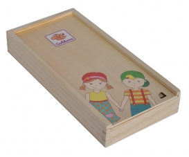 EH Body Puzzle with Wooden Box