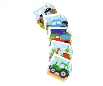 Eichhorn Bilderwürfel, Fahrzeuge