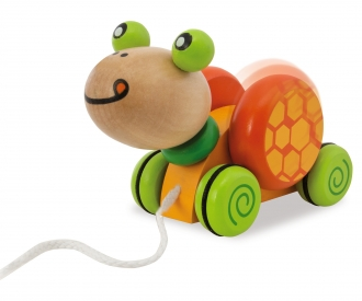 Eichhorn Pull-along Animal, Turtle