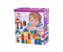 Eichhorn Coloured Wooden Blocks