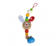 Eichhorn Baby, Dummy Chain with Clip