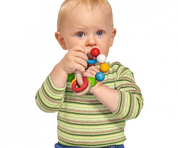 Eichhorn Baby, 3D Greifling