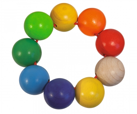 Eichhorn Baby, Grasping Toys Beads