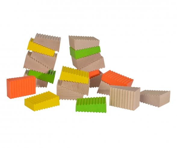 Eichhorn Wooden Blocks Shape
