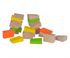 Eichhorn Wooden Blocks Shape