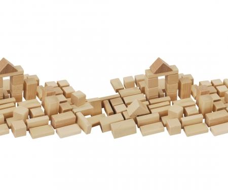 HEROS  Natural wooden Blocks 50