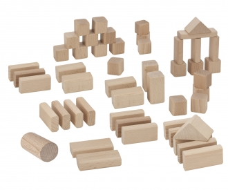 Eichhorn Natural Wooden Blocks