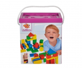 EH Coloured Wooden Blocks