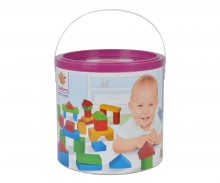 HEROS Wooden Blocks Baby-Box 50