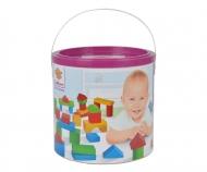HEROS Wooden Blocks Baby-Box 50