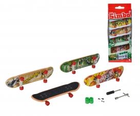 Finger Skateboard 4er Set