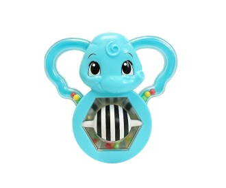 ABC Rattling Mirror-Elephant