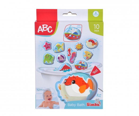 ABC Magic Bath Puzzle
