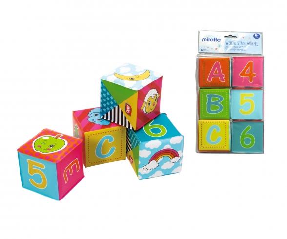 ABC soft Stacking Blocks