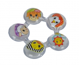 ABC Teething Ring with Water Filling