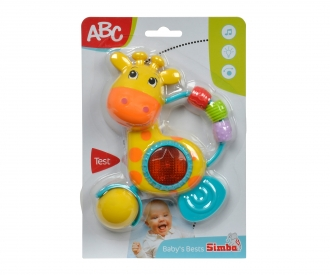 Hochet son et lumière ABC