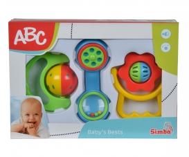 ABC Baby Rattle Set