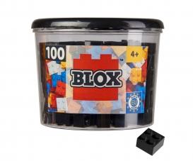 Blox 100 schwarze 4er Steine in Dose