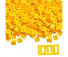 Blox 1000 yellow 4 pin Bricks Loose